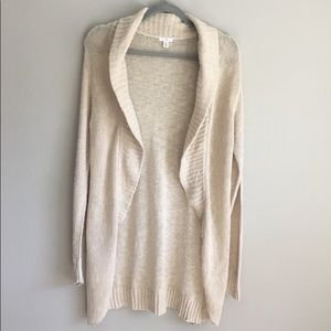 BP Long Shawl Cardigan Sz M